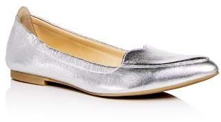 Isa Tapia Women's Nova Leather Pointed Toe Flats