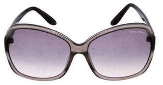 Tom Ford Nicola Gradient Sunglasses