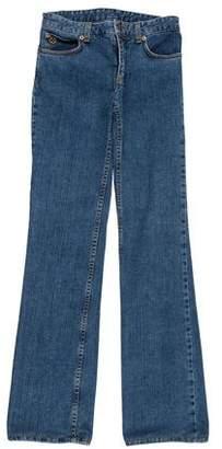 Louis Vuitton Low-Rise Straight-Leg Jeans