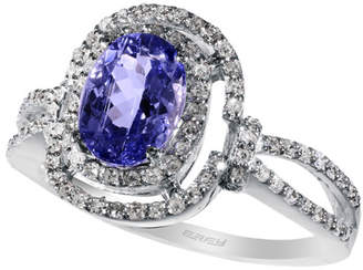Effy Fine Jewelry 14K 1.56 Ct. Tw. Diamond & Tanzanite Ring