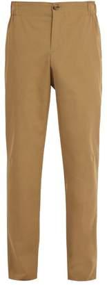 A.P.C. Louis Gabardine Trousers - Mens - Beige