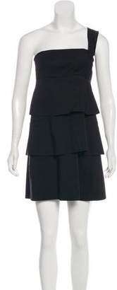 Robert Rodriguez One Shoulder Mini Dress