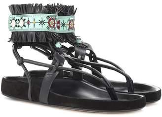 Isabel Marant Eliby fringed leather sandals