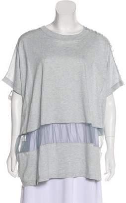 Maison Margiela Oversize Short Sleeve Top