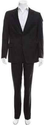 Prada Wool Glen-Plaid Suit