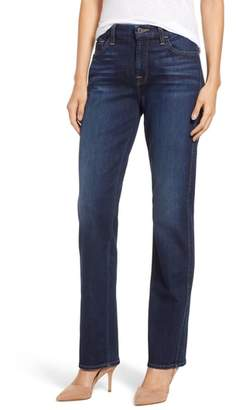 Jen7 Stretch Slim Straight Leg Jeans