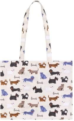 Harrods Walking Dogs Shoulder Bag