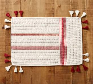 Pottery Barn Nellie Quilted Placemat, Set of 4