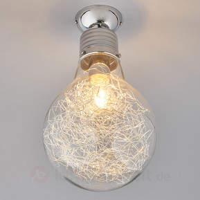 Rubi - Deckenlampe in Form einer Glühlampe