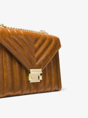 d1be75690e9c MICHAEL Michael Kors Whitney Large Quilted Leather Convertible Shoulder Bag