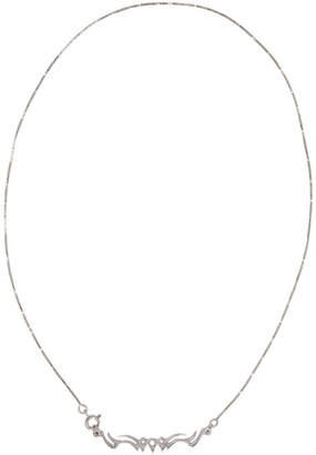 Alan Crocetti Silver Tribal Necklace