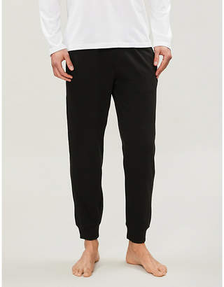 Calvin Klein Monogram jersey jogging bottoms