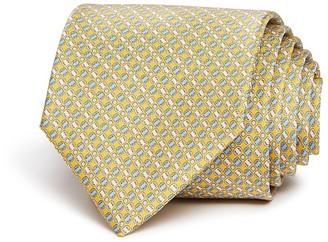 Salvatore Ferragamo Mini Vara Link Dot Classic Tie $190 thestylecure.com