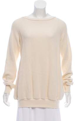 Veronique Branquinho Open Back Long Sleeve Sweater
