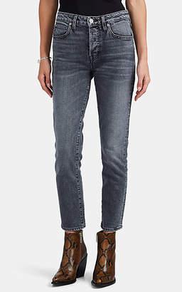 SLVRLAKE Women's Lou Lou Slim-Straight Jeans - Gray