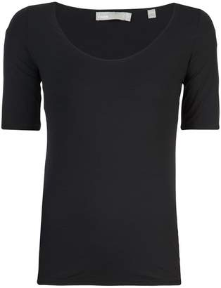 Vince short-sleeve fitted top
