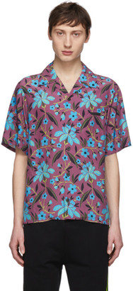 Prada Multicolor Cherry Floral Shirt
