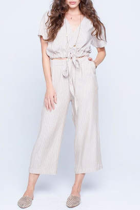 Knot Sisters Madrid Striped Pant