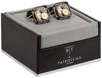Tateossian Square Gear Cufflinks