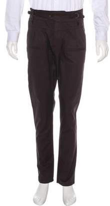 Dolce & Gabbana Woven Flat Front Pants