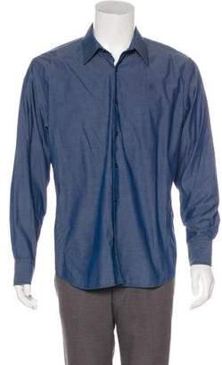 G Star Point Collar Button-Up Shirt