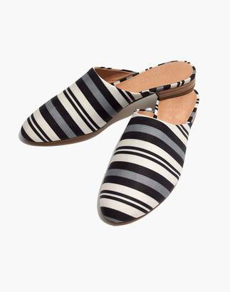 Madewell The Cassidy Mule in Evelyn Stripe