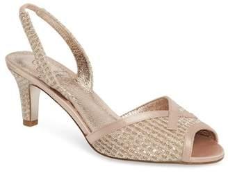 Adrianna Papell Jolene Glitter Slingback Sandal (Women)