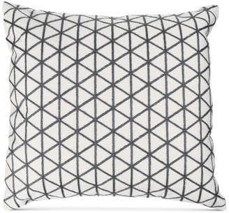 "Trademark Global Modern Geometric Triangle Accent 18"" Decorative Throw Pillow"