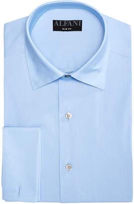 Alfani AlfaTech by Men's Solid Athletic Fit Dress Shirt