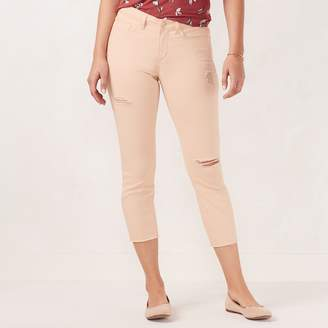 Lauren Conrad Women's Capri Skinny Jeans