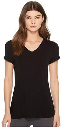 Splendid Studio Core Twist Sleeve Tee Women's T Shirt