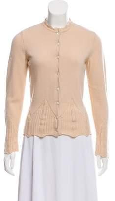 Christian Dior Wool Knit Cardigan