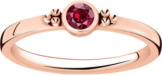 Thomas Sabo Royalty 18ct rose gold-plated ring
