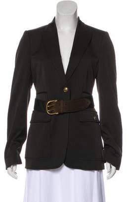 Gucci Wool Structured Blazer