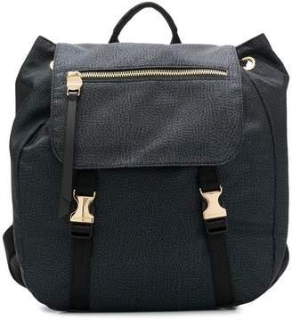 Borbonese foldover top backpack