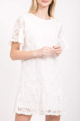 Very J Lace Shift Dress