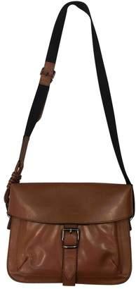 Sportmax Brown Leather Handbag