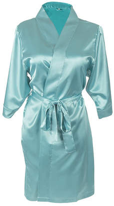 Cathy's Concepts Cathys Concepts Personalized Satin Bathrobe