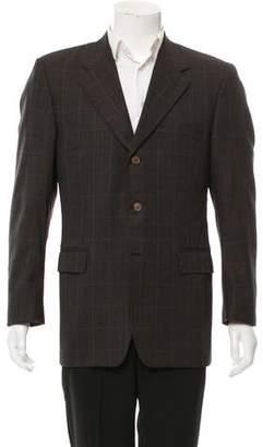 Canali Three-Button Wool Blazer