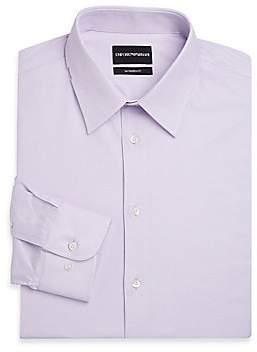 Emporio Armani Men's Modern Fit Long Sleeve Dress Shirt