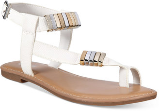 Bar Iii Verna Flat Sandals, Only at Macy's Women's Shoes $59.50 thestylecure.com