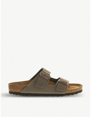 Birkenstock Arizona faux-leather sandals