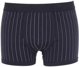 Pinstriped Stretch Jersey Boxer Briefs $115 thestylecure.com