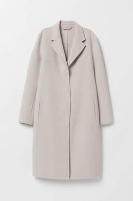 H&M Wool-blend Coat - Brown