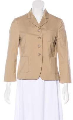 Miu Miu Structured Notch-Lapel Blazer