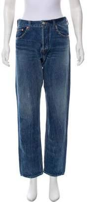 Balenciaga 2017 High-Rise Jeans