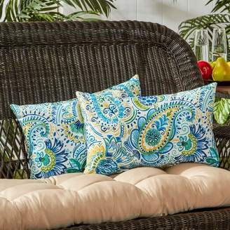 Greendale Home Fashions Outdoor Lumbar Pillow