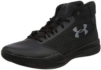 Ua Jet Low, Mens Basketball Shoes, Black, 8.5 UK (43 EU) Under Armour