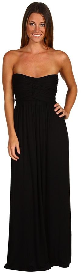 Type Z - Liliana Maxi Dress (Black) - Apparel