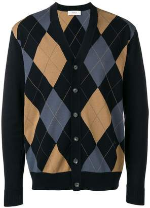 Pringle Argyle knit cardigan